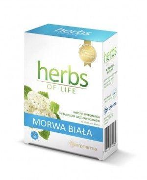 HERBS OF LIFE suplement MORWA 60szt super suplementy ziołowe  biotojestto.pl