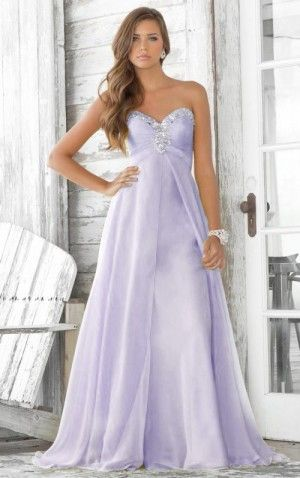 Lavender Prom Dress