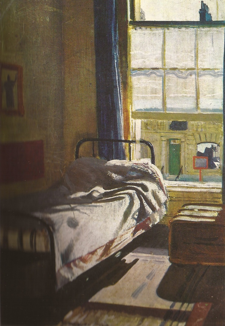 WILLIAM DOBELL - Interior with Bed (1932)