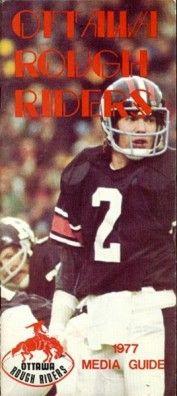Tom Clements - 1977 Ottawa Media Guide