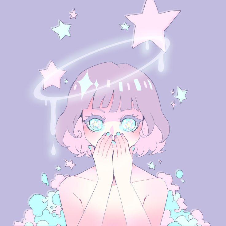 pastel anime girl - Google Search