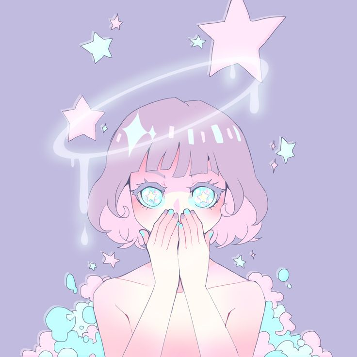 pastel anime girl - Google Search