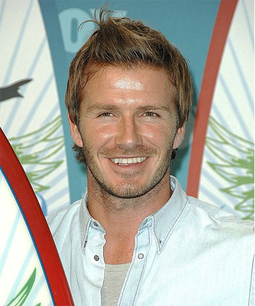 David Beckham Hairstyle – Casual Short Straight | Hairstyles 2014