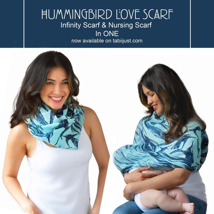 The Hummingbird Love Scarf #mom #baby #ethicalfashion
