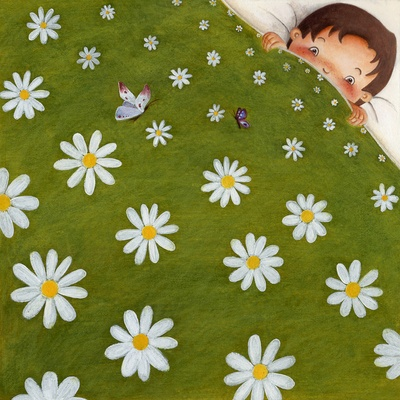 Welcome back spring!   Illustration by Arianna Usai