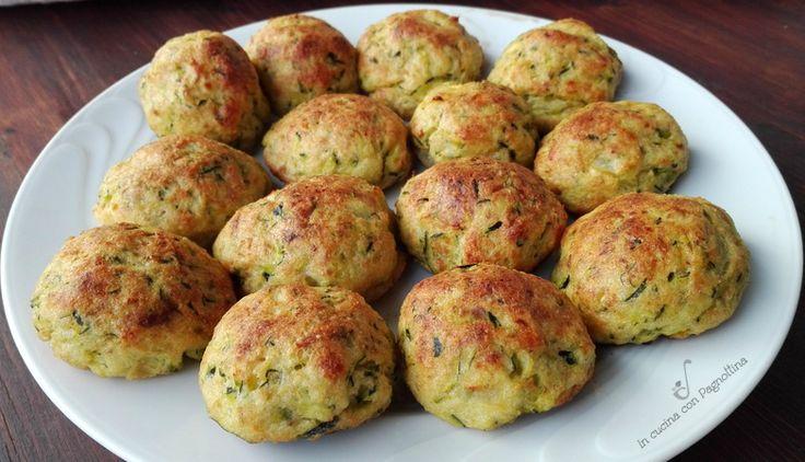 polpette di zucchine e patate/ Тефтели из цукини  и картофеля