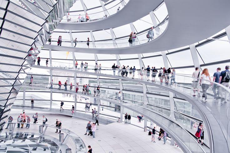 Inside the Reichstagskuppel -