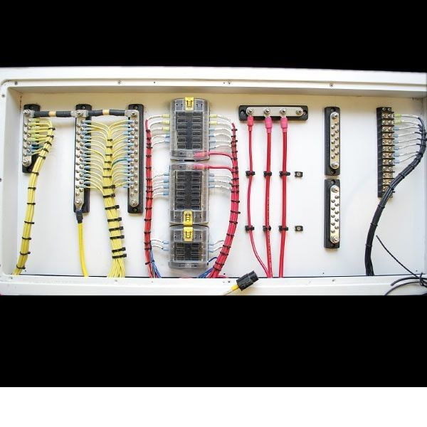 17 best boat wiring images on pinterest boat wiring boats and boating rh pinterest com boat wiring schematics boat wiring color