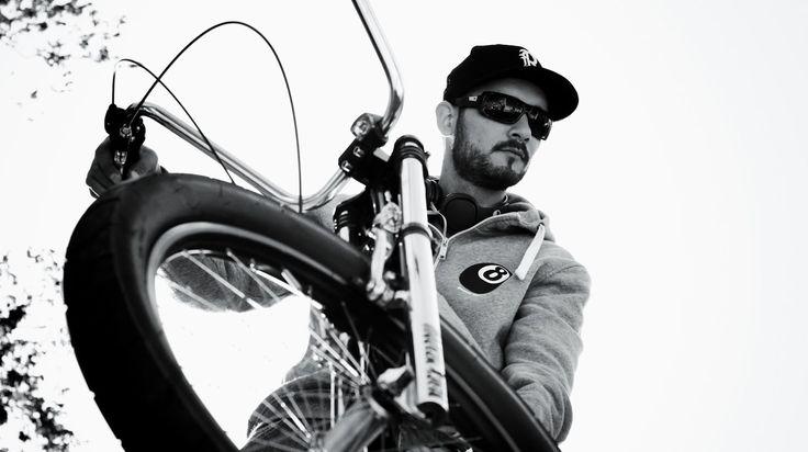 Biker Ladislav Mareček photoshooting for 8haters