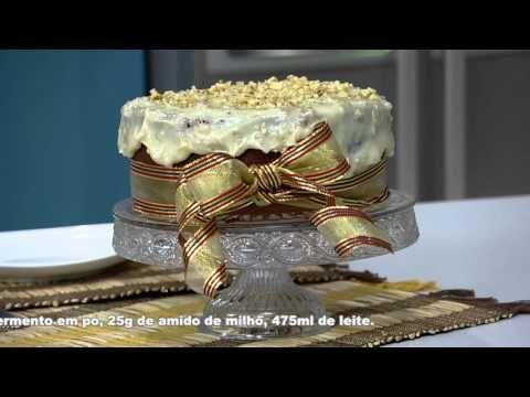 Receita Bom Sabor - 01/12/2015 - Bolo picada de abelha - Juliana Calipo - YouTube