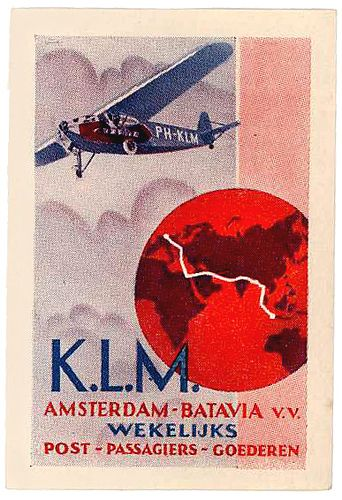 K.L.M Amsterdam-Batavia