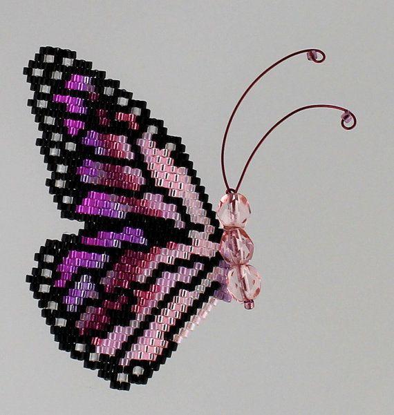 Rainbow Monarch Pattern and Tutorial by WizardIslandDesigns