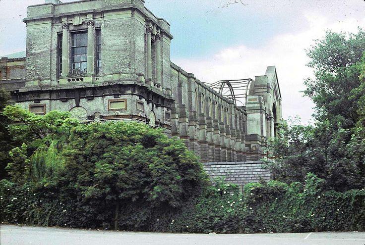 Alexandra Palace after the fire, North London 1980 | by beareye2010