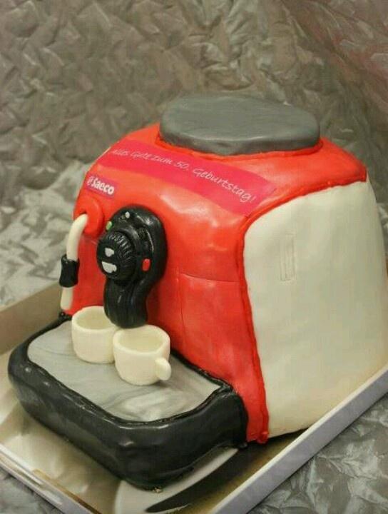 Kaffeemaschinen Torte