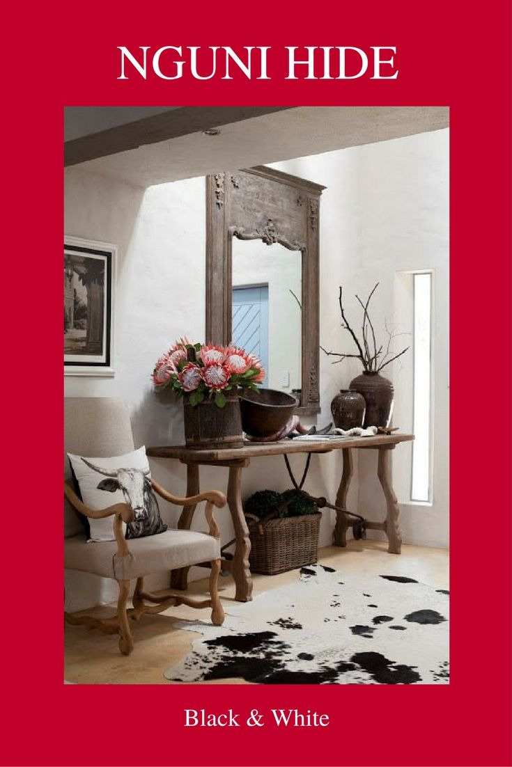 Nguni Decor add a bit of African style to your home.  Email: sales@josephines.co.za