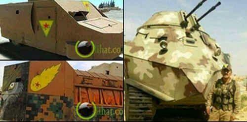 10 Kendaraan Perang Unik Pejuang Kurdi Melawan ISIS