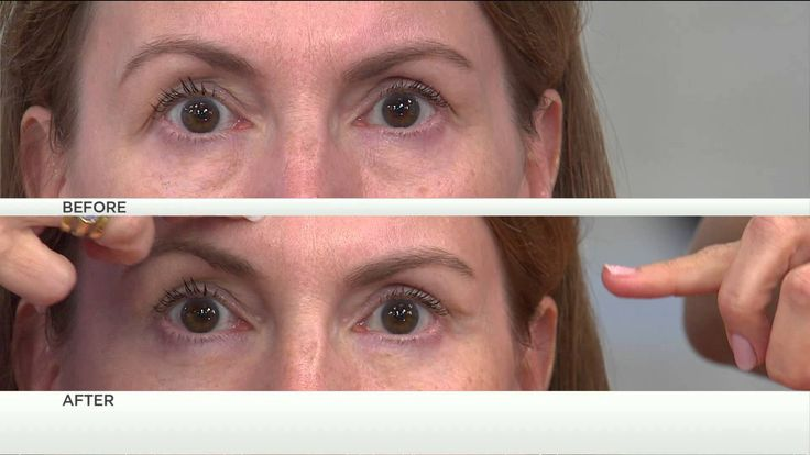 A QVC airing with Jennifer Coffey-- she has the most beautiful eyes ever!!!