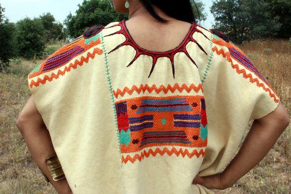 identical eye ethnic embroidery