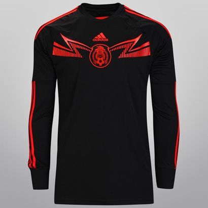 Mexico Jersey 2014 Black