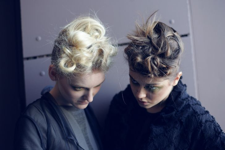 twistsKaty Gallagher, Fierce Hairstyles, Backgrounds Concept, Fall 2012, Hair Style