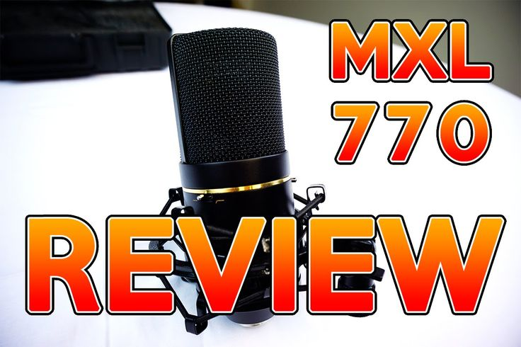 awesome MXL 770 Microphone Review - Best Studio Mic For Under 100 Check more at http://gadgetsnetworks.com/mxl-770-microphone-review-best-studio-mic-for-under-100/