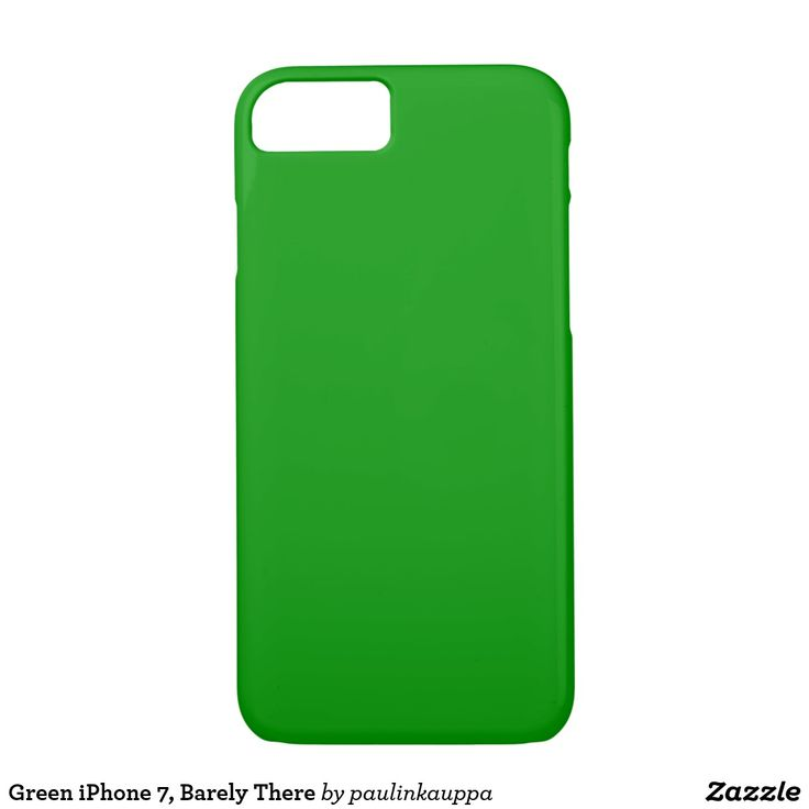 Green iPhone 7, Barely There