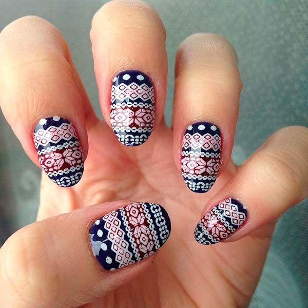 Cute Winter Nail Art Ideas From Instagram Pepe