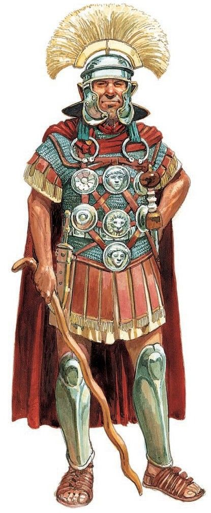 Peter Dennis. Roman centurion.
