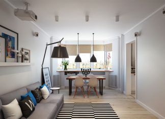 Scandinavian apartment in Moscow