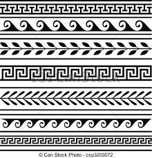 """Résultat de recherche d'images pour """"dessin frise grecque"""""""