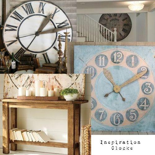 clocks. many clocks.