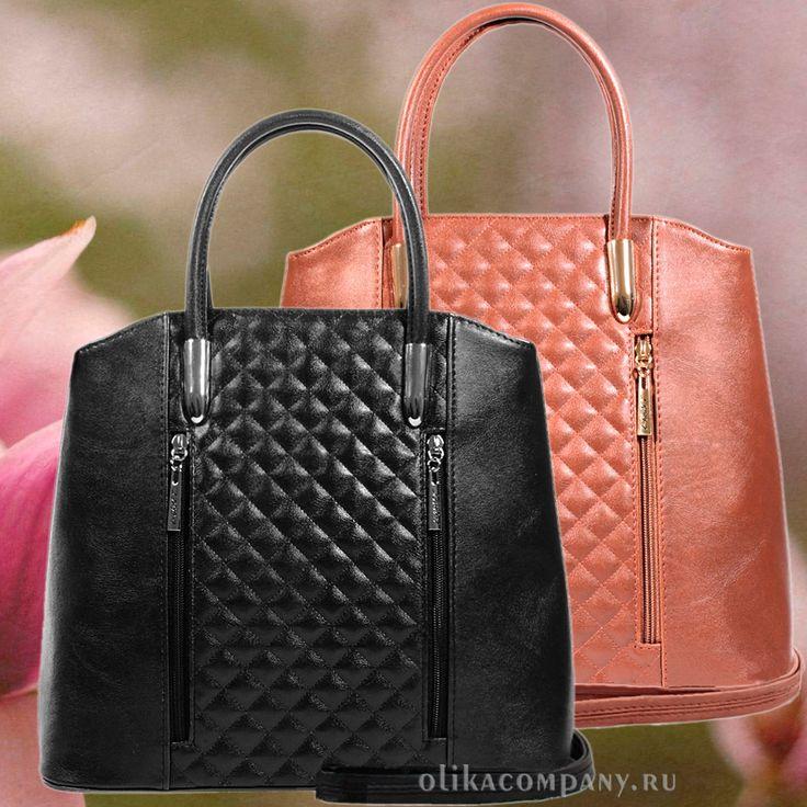 Женская сумка 1305-5 стеганая, размеры 32*12*27 см 2000 руб