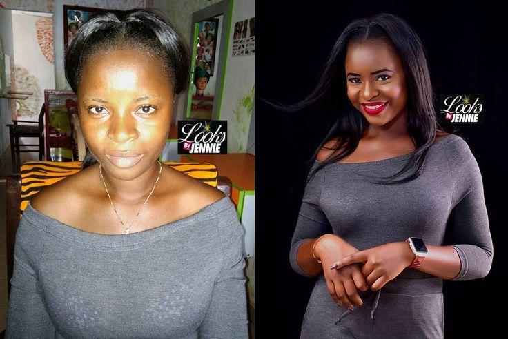 #Transformationfriday, beautiful before and stunning after, even without makeup she slay. Thanks darling for choosing @looksbyjennie Model: @iam_impeccable  Mua: looksbyjennie26 #mua#facebeat#jenniestudioandmakeup#kyliecosmetics#brows #eyeshadow#makeupartist#makeuponfleek�� #sugarweddings#ms_asoebiafrica#nigerian#bellanaija#ms_asoebi http://ameritrustshield.com/ipost/1538345826807906406/?code=BVZTWEElwBm