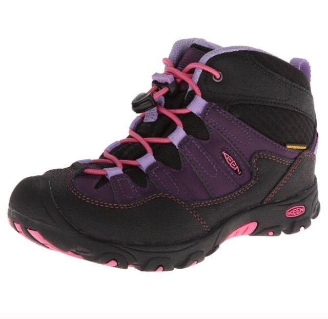 New Keen Pagoda Mid WP Girls Hiking Boot 12C Warm Waterproof | eBay