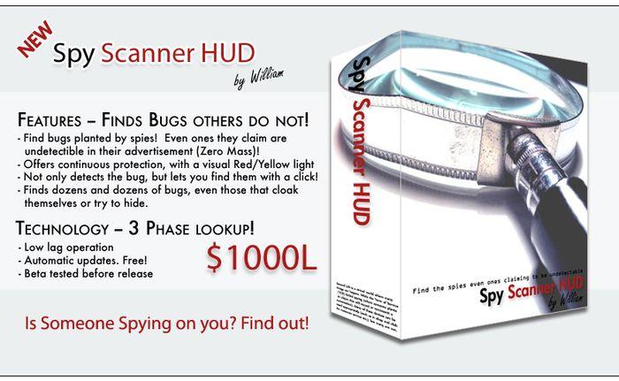 William's Spy Scanner HUD (BOX) -- NEW LOW PRICE