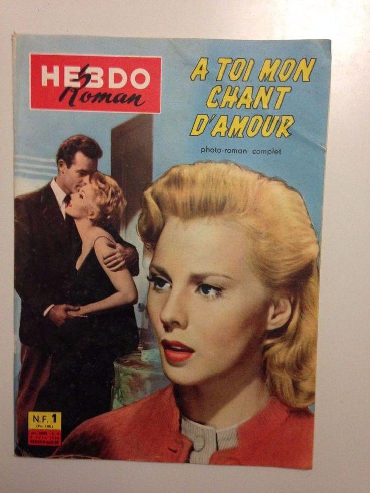 HEBDO ROMAN N°19 1960 A TOI MON CHANT D'AMOUR / DI STEFANO REMY CAMPANINI
