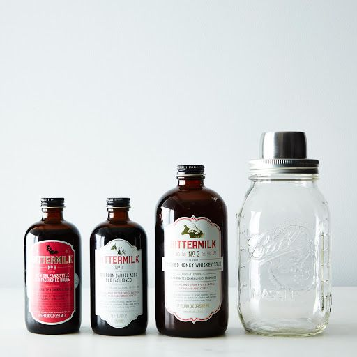 YAYY, Bittermilk!!!  Cocktail Syrups & Shaker Gift Set on Provisions by Food52