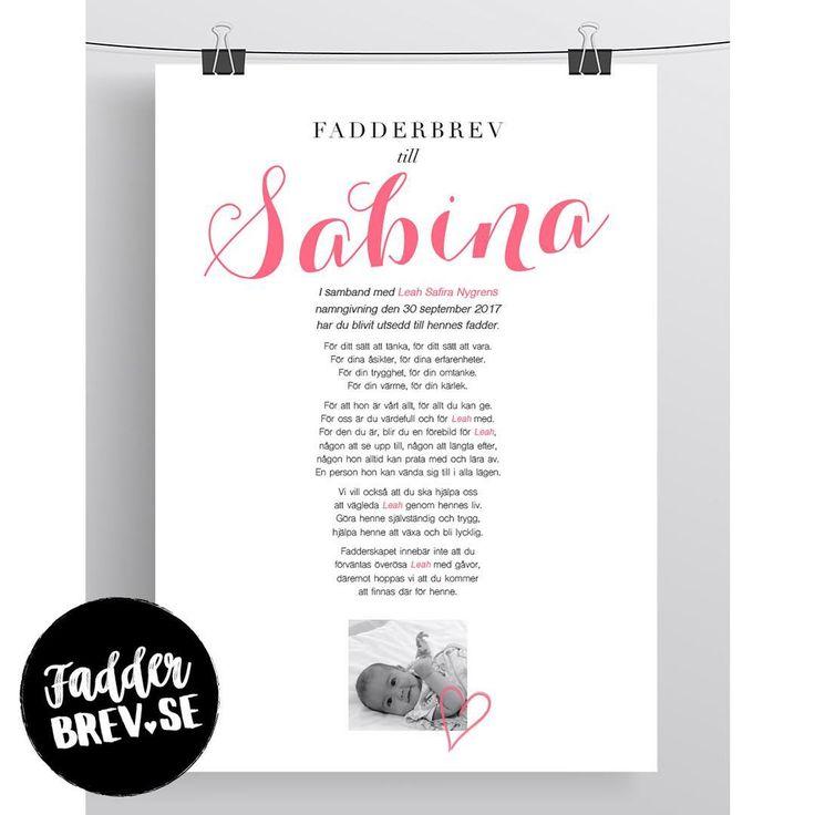 Det här kärleksfulla, personligt designade fadderbrevet fick Leahs fadder Sabina. Beställ ett till namngivningen du också på Fadderbrev.se ♥ ⠀⠀⠀ ⠀⠀⠀ ⠀⠀⠀ ⠀⠀⠀ ⠀⠀⠀ ⠀⠀⠀ ⠀⠀⠀ ⠀⠀⠀ ⠀⠀⠀ ⠀⠀⠀ ⠀⠀⠀ - - - - - - - - - - - - - - - - - - - - - - - - - - - - - - - - ⠀⠀⠀ #fadderbrev_se #fadderbrev #namngivning #namngivelse #namngivningsfest #namngivningskalas #namngivningsceremoni #namngivningspresent #dop #dopgåva #faddrar #fadder #fadderbarn #babystuff #babyshower #mittlivsommamma #mammalivet #mammaledig…