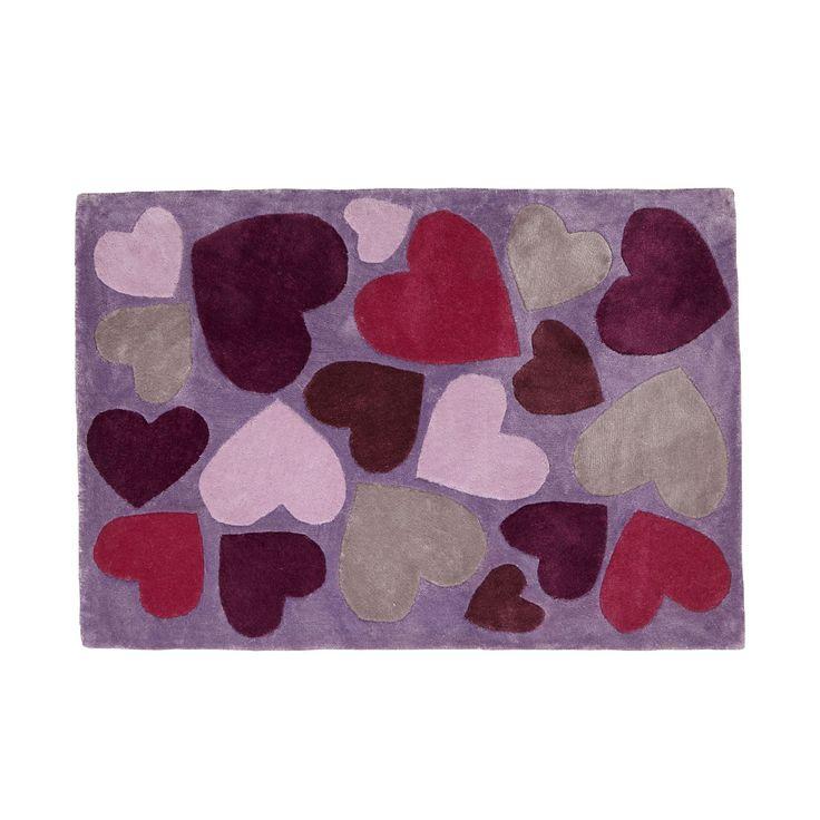 Tapis 90x130cm Multicolre - A la folie - Les tapis de chambre d'enfants - Les tapis, rideaux et coussins - Univers des enfants - Décoration d'intérieur - Alinéa