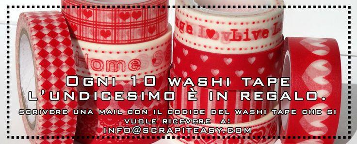 negozio web di washi tape