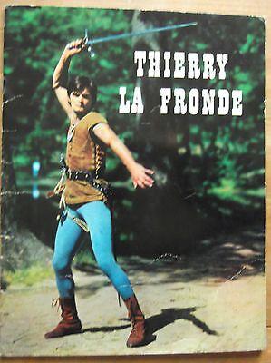 LIVRE THIERRY LA FRONDE Jean claude DERET Clichée en noir et blanc 1965 TBE