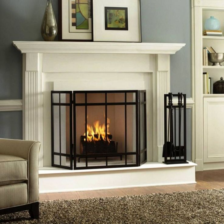 25+ Beautiful And Unique Fireplace Design Ideas For Your ...
