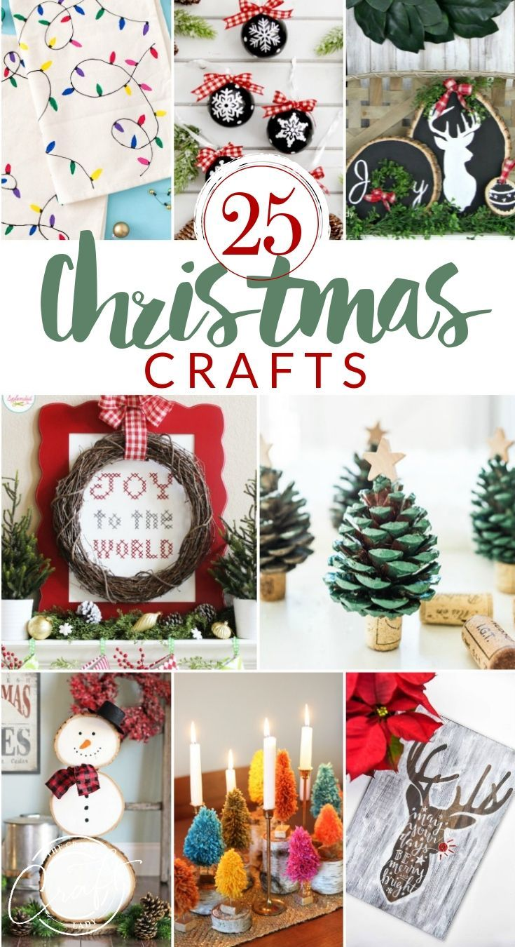 25 Very Merry Christmas Crafts For Adults Christmas Crafts For