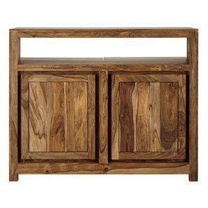 bar furniture in solid sheesham wood L 130 cm - Stockholm