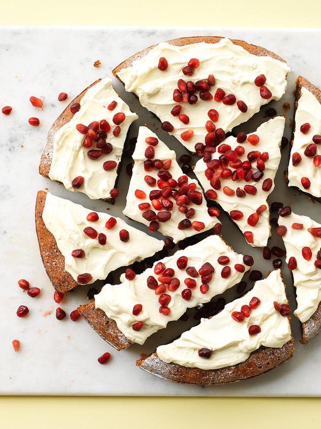 pompoen-wortel taart