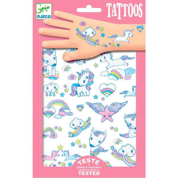Djeco tatoveringer, enhjørninger