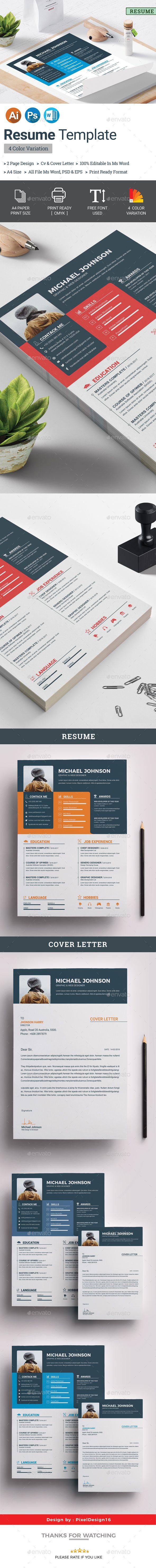Resume Resumes Stationery