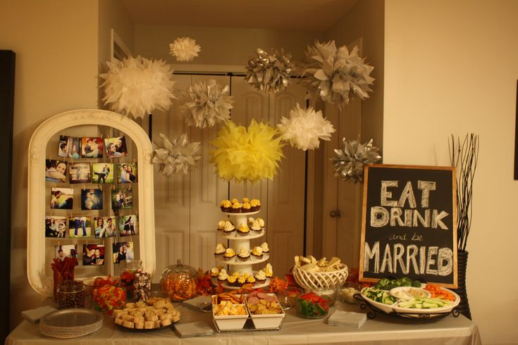 Engagement Party Decorations My Pinterest Inspired DIY Decor Table DIY Pa