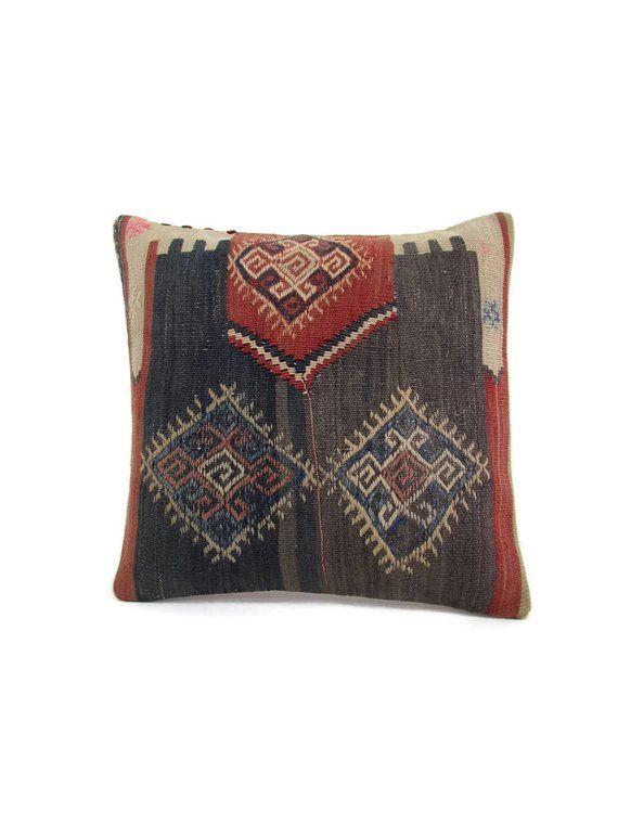 Housewarming Gift Kilim Pillow Cover 16x16 Decor Pillow Interior Design  Home Decor Decorative Pillow ac7b2c158
