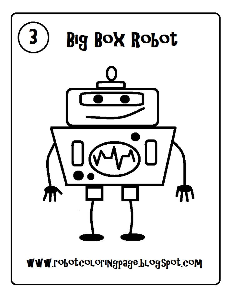 The 8 best Robot coloring page and drawings for kids to print images ...